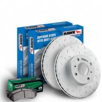 Тормозные колодки HAWK Performance для Land Cruiser и Lexus LX570