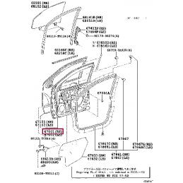 Крыло переднее правое без отверстия под повторитель Ленд Крузер / Land Cruiser 200 2007-