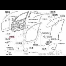 Диффузор вентилятора радиатора Ленд Крузер / Land Cruiser 200 08-