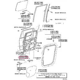 Решетка радиатора тюнинг хром сетка SAILING Ленд Крузер / Land Cruiser 200