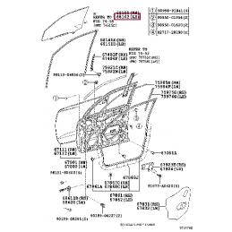 Молдинг капота хром Прадо / Prado150 13- L118011600