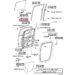 Усилитель переднего бампера верхний Прадо / Prado150 13- L118020903