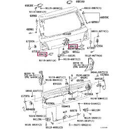 Решетка переднего бампера (заглушка) правая Прадо / Prado 120 12BS734