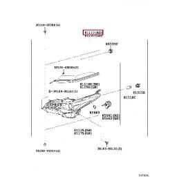 Защита бампера передняя двойная (круг+овал) D 76,1/75х42 Прадо / Prado