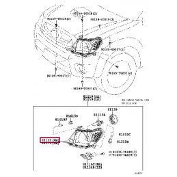 Защита бампера передняя D 76,1 Прадо / Prado