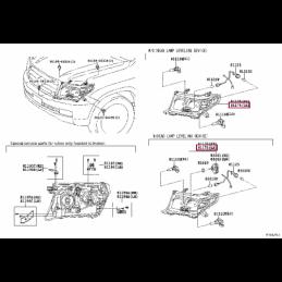 Защита бампера задняя уголки D 76,1 Ленд Крузер / Land Cruiser