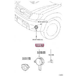Тормозной суппорт левый 47750-60340 Ленд Крузер 200 и LX570 2016