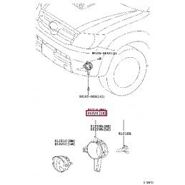 Суппорт радиатора Лексус / Lexus GX460 TY8G10A