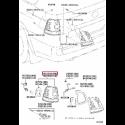 "Колесный диск Pinnacle, 18"" Черный Прадо / PRADO PZ49P-J0670-ZB"