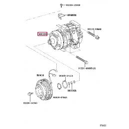 Задний регулируемый стабилизатор WHITELINE BTR89X  33мм для TOYOTA Land Cruiser 200, LEXUS LX 570