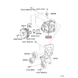 Задний регулируемый стабилизатор WHITELINE BTF88XX 38мм для TOYOTA Land Cruiser 200, LEXUS LX 570