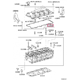 Коврик багажника резиновый, черный Прадо / Prado 5 мест PZ434-J2303-PJ