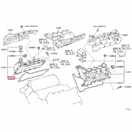 Коврик багажника резиновый черный Прадо / Prado 7 мест PZ434-J2306-PJ