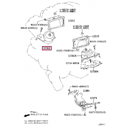 Коврики текстильные серые Ленд Крузер / Land Cruiser 5-мест PZ410-7935A-DY