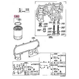 Коврик багажника резиновый черный 5 мест Ленд Крузер / Land Cruiser 200 PZ434-79304-PJ