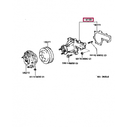 Секретки Тойота Прадо / Prado PZ4130068000