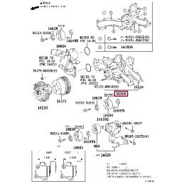Литой диск Mirwe 17'' Тойота Прадо / Prado PZ474J0670ZJ
