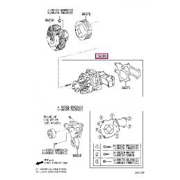 Защита КПП, алюминий Тойота Прадо / Prado PZ4AL0169600