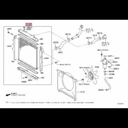 Крепеж алюминиевой защиты КПП Тойота Прадо / Prado PZ4AL0169660