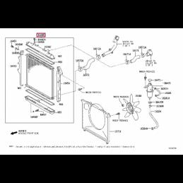 Крепеж стальной защиты картера Тойота Прадо / Prado PZ4AL0169860