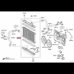 Защита бака. сталь Тойота Прадо / Prado PZ4AL0192700