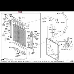 Защита КПП, алюминий Тойота Ленд Крузер / Land Cruiser PZ4AL0127600