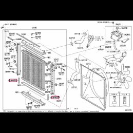 Защита КПП, сталь, 4,5d Тойота Ленд Крузер / Land Cruiser PZ4AL0300500