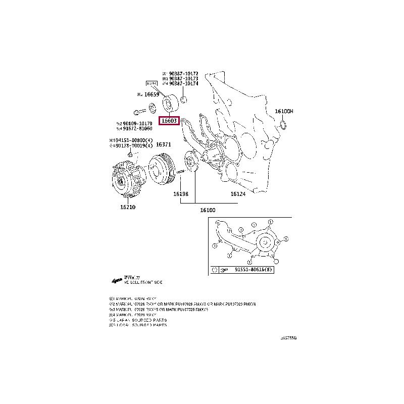 toyota-166030C013