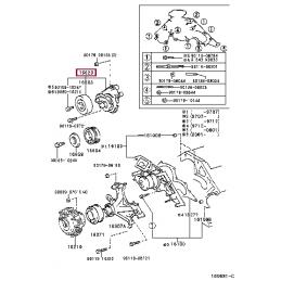 Багажная сетка боковая Тойота Ленд Крузер / Land Cruiser PZ472J0340ZA