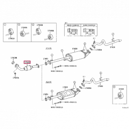 Шторка багажника бежевая Тойота Ленд Крузер / Land Cruiser 0820160900A2