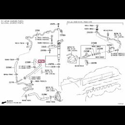 Коврик багажника всесезонный, с бортом, бежевый Ленд Крузер / Land Cruiser KFMTN-P8850-BG
