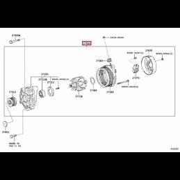 Система фиксации багажа Тойота Прадо / Prado PZ49DT934000