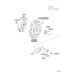 Проводка для фаркопа 7 пин Тойота Прадо / Prado PZ417J956400