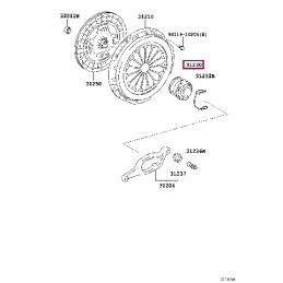 Проводка для фаркопа Тойота Ленд Крузер / Land Cruiser PZ45770567A0