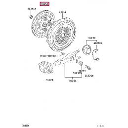 Проводка для фаркопа, 7 пин Тойота Прадо / Prado PZ457J9567A0