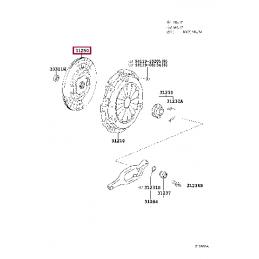 Фаркоп фланцевый Тойота Прадо / Prado PZ408J055700