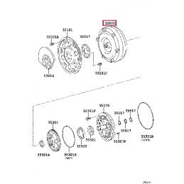 "Диск тормозной BREMBO для системы GT (20"") передний правый для LX570/LC200"