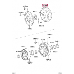 Задний тормозной диск Brembo Sport Line для Land Cruiser 200 и LX570 c перфорацией