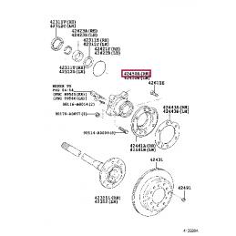 STOPTECH 126.44162SR Тормозной диск передний (правый) для Land Cruiser 200 и LX570