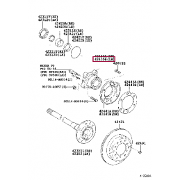 Диск тормозной StopTech задний левый L 380mm 32mm 30.873.1123 для системы ST41
