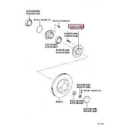 Колодки тормозные передние для StopTech ST65 HB302F.700 HAWK HPS