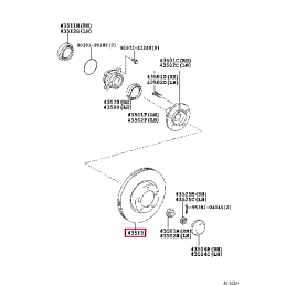 Передний тормозной диск Brembo Sport Line для Land Cruiser 200 и LX570 c перфорацией
