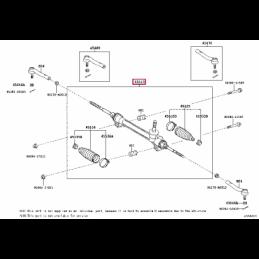 Дефлектор капота Лексус GX PZ451J8530ZA