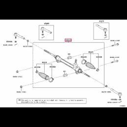 Дефлектор капота Лексус LX PZ451Q0530ZA