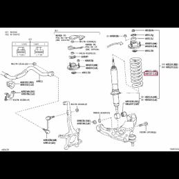 Коврики резиновые, бежевые Лексус LX PZ49KQ2356RJ