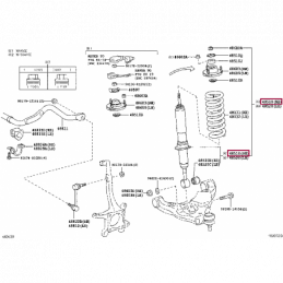 Проводка для фаркопа, 7 пин Лексус GX PZ457J8560A0