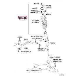 Амортизатор передний KONI Heavy Track 8240-1183SPX Land Cruiser 100