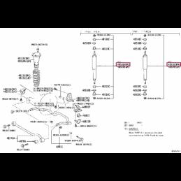 Амортизатор передний KONI Heavy Track 82-2522 Ленд Крузер Прадо / Prado