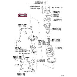 Амортизатор задний KONI Heavy Track 82-2523 Ленд Крузер Прадо / Prado