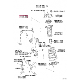 Амортизатор передний KONI 90-5447 Heavy Track Raid Ленд Крузер / Land Cruiser 200